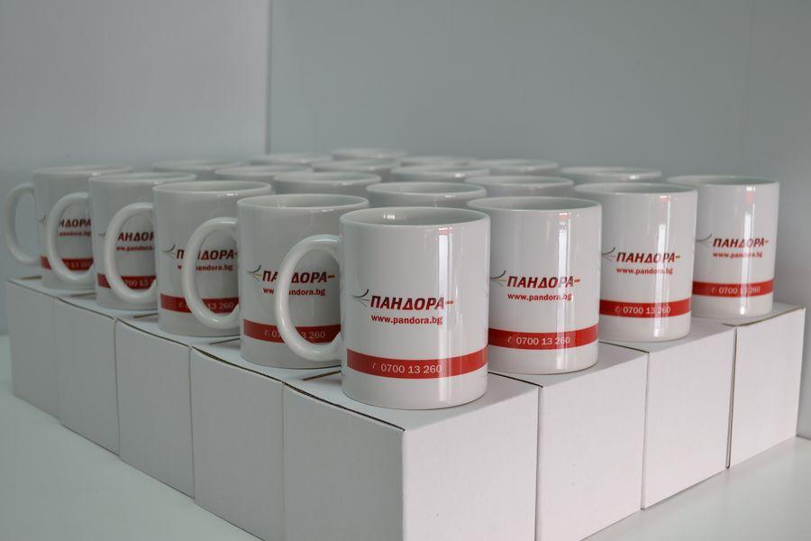 Рекламни чаши с фирмено лого