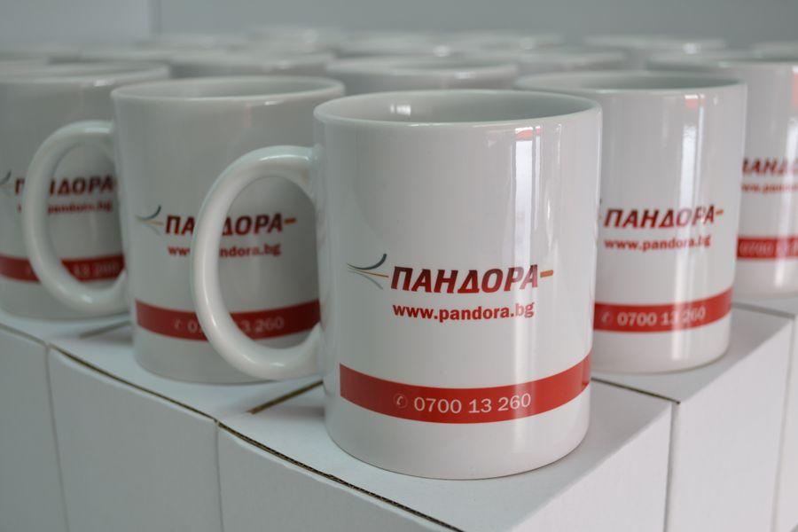 Рекламни чаши с лого
