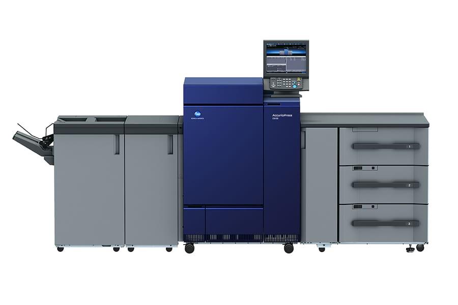 Дигитален печат на Konica Minolta AccurioPress C6085